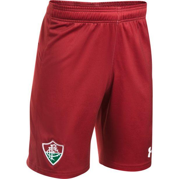 Oferta de Shorts Under Armour Oficial Fluminense FC Infantil por R$34,9