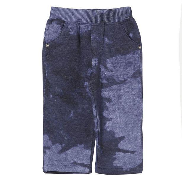 Oferta de Calça Look Jeans Moletom por R$21,9