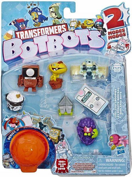 Oferta de Transformers Figura Botbots Pack com 8 - Nampy e Bunches HASBRO por R$47