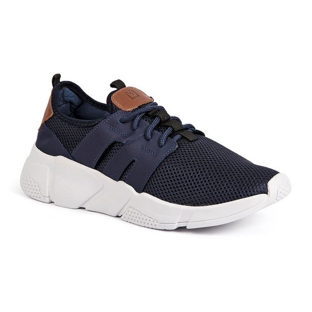 Oferta de TENIS DAD SNEAKERS MOSCOLONI DAY BY DAY SUPERUNNER AZUL MARINHO OUTLET por R$44,9