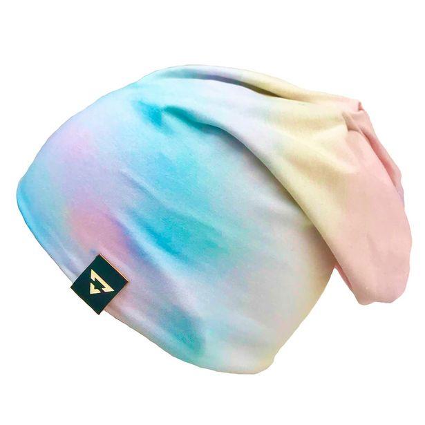 Oferta de Gorro Touca Brohood Malha Tie Dye Claro por R$20