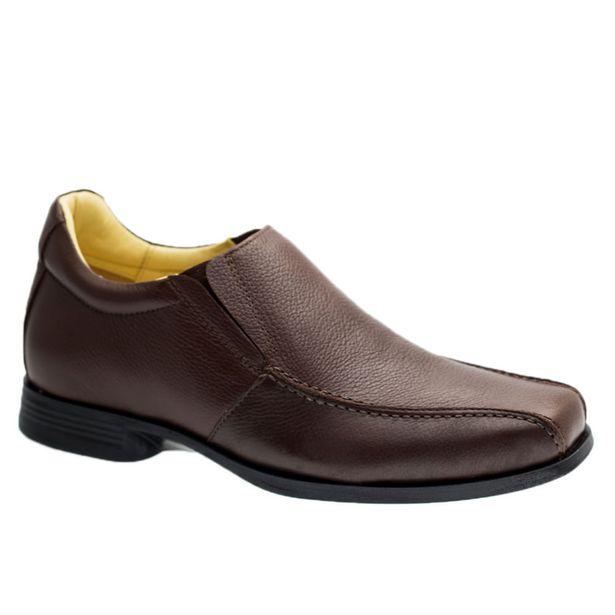 Oferta de Sapato Masculino Linha Up (5 cm + alto) 5498 em Couro Floater Café Doctor Shoes por R$54,21