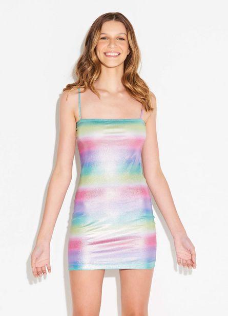 Oferta de Vestido Arco Íris por R$118,5