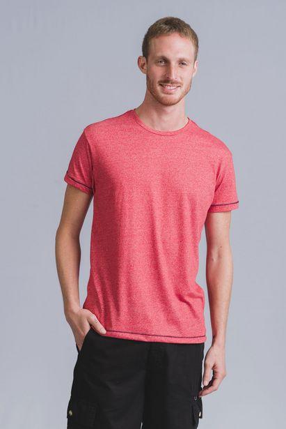 Oferta de Tshirt Mescla Vinho Wollner por R$45