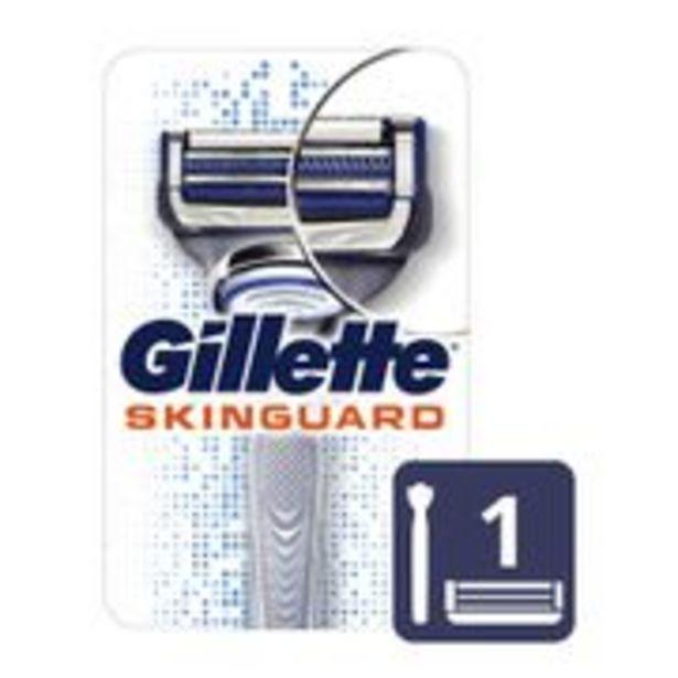 Oferta de Aparelho de Barbear Gillette Skinguard Sensitive 1 Unidade por R$24,74