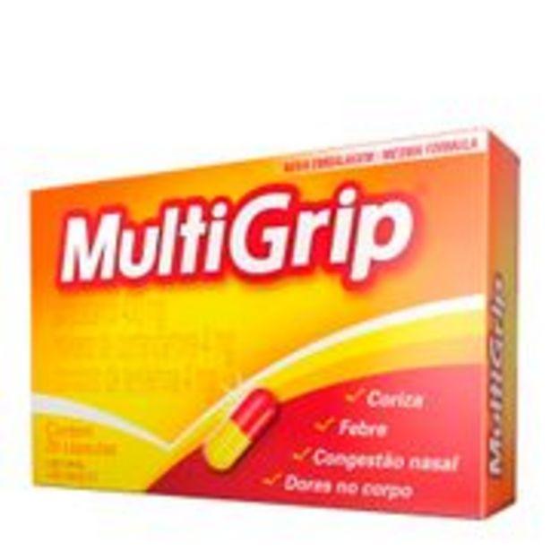 Oferta de Multigrip 20 Cápsulas por R$17,9