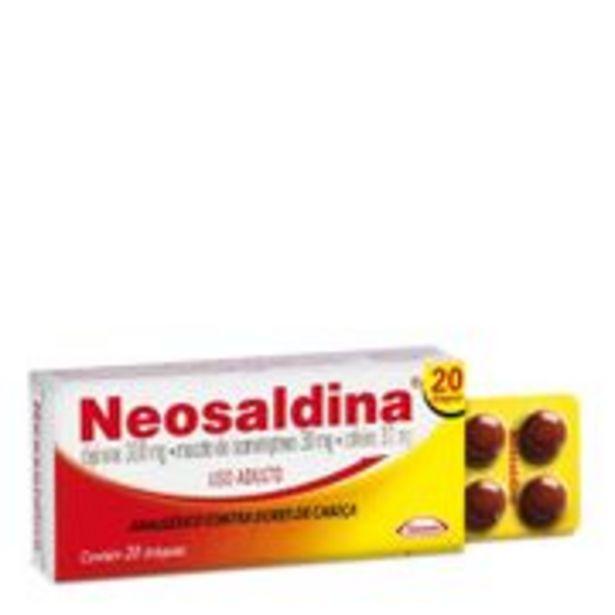 Oferta de Neosaldina 20 drágeas por R$20,99