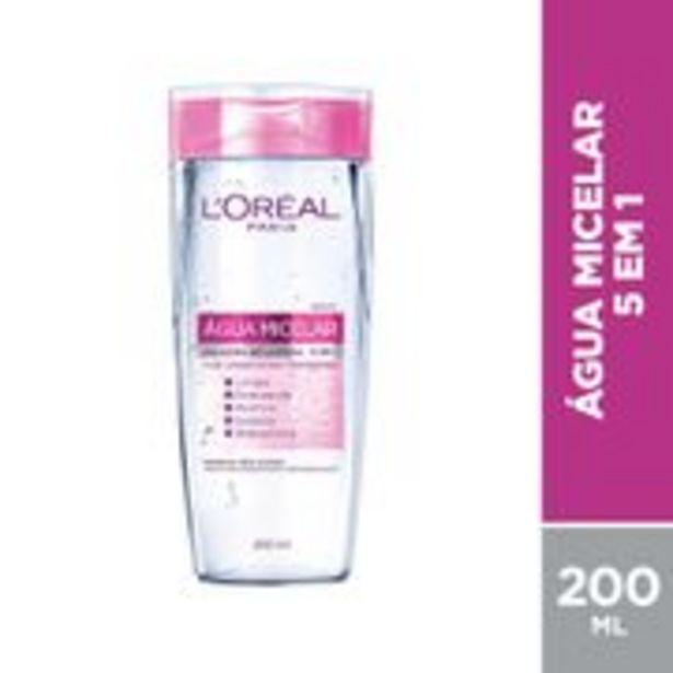 Oferta de Água Micelar L'Oréal 5 em 1 200ml por R$32,29