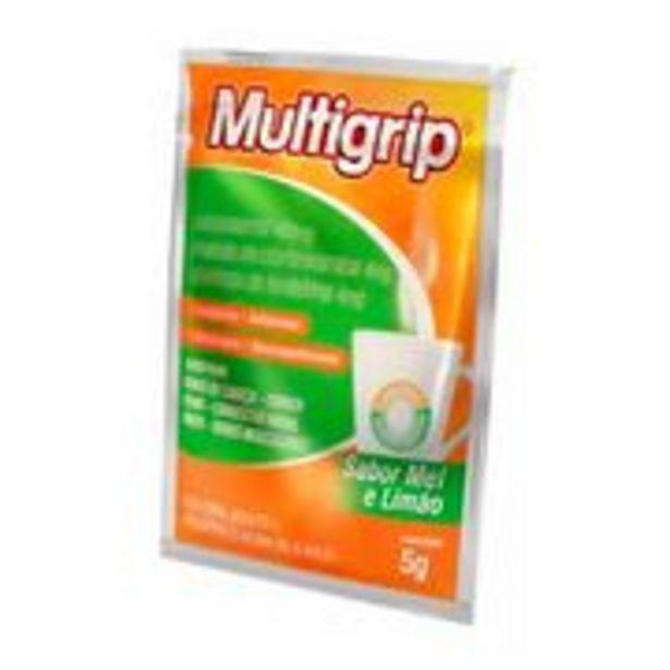 Oferta de Multigrip Sabor Limão e Mel Multilab Sachê 5g por R$3,41