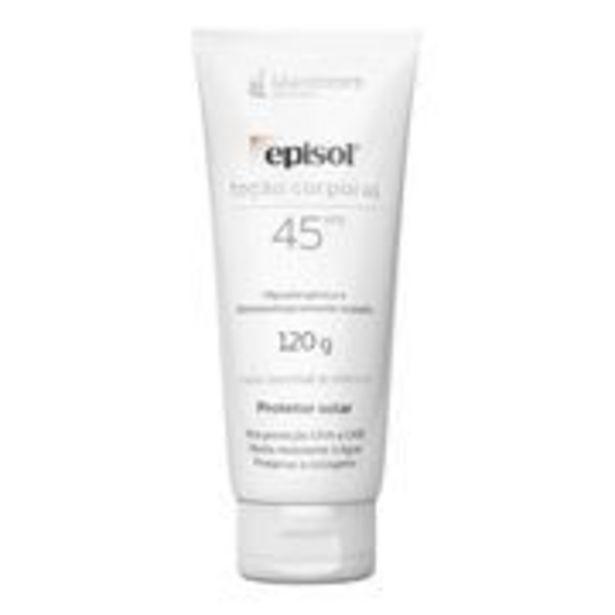 Oferta de Protetor Solar Corporal Episol FPS45 120g por R$37,9