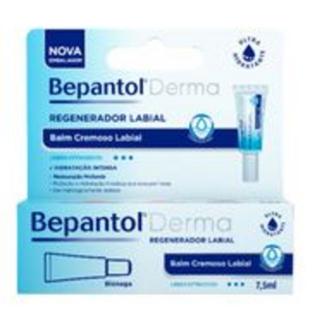 Oferta de Bepantol Regenerador Labial Derma Bayer 7,5ml por R$29,69