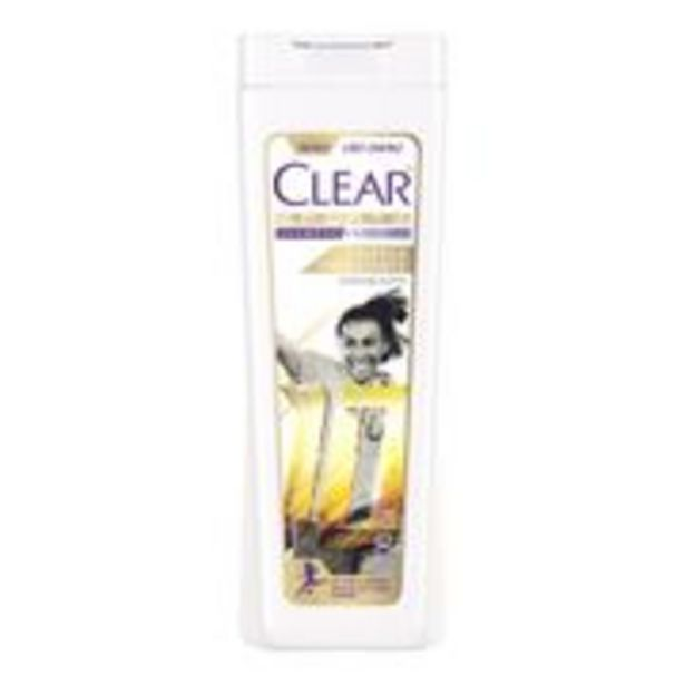 Oferta de Shampoo Anticaspa Clear Women Limpeza Hidratante 200ml por R$10,72