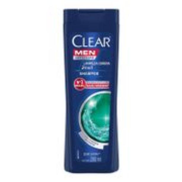 Oferta de Shampoo Anticaspa Clear Men Limpeza Diária 2 em 1 200ml por R$10,72