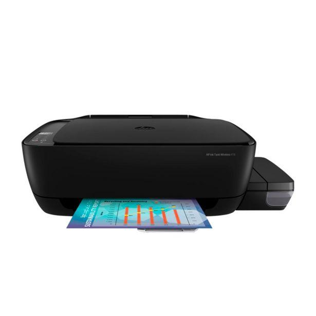 Oferta de Impressora Multifuncional Hp 416 Wifi Tanque de Tinta Color - Z4b55a#ak4 por R$929