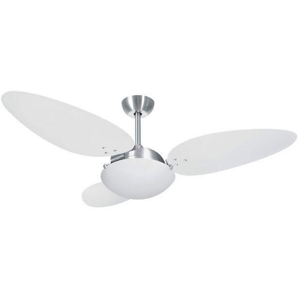 Oferta de Ventilador Volare Platinum Pétalo Branco por R$859,9