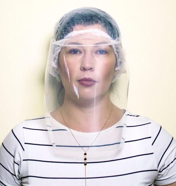 Oferta de Kit Com 4 Máscaras Protetor Facial Com Elástico Grosso Face por R$49,9