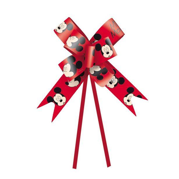Oferta de Laço Pronto Embalagem Presente Mickey Disney 18Mmc/10 por R$6,9