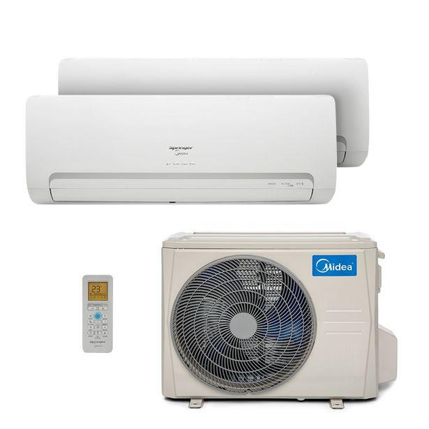 Oferta de Ar Condicionado Multi Bi Split Hw Inverter Springer Midea 1x9000 1x18000 Btus Quente/Frio 220V 38MBTA27M5 por R$9999