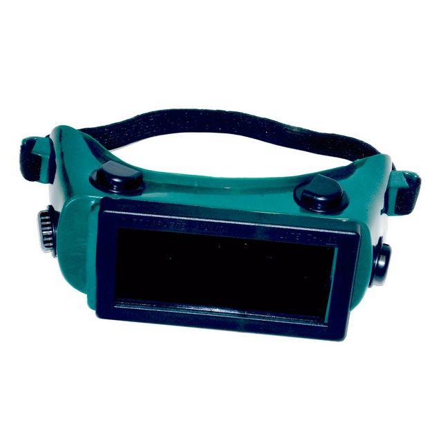 Oferta de Óculos De Solda Cg 500 Com Visor Fixo Carbografite-01 por R$25,37