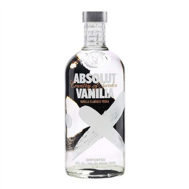 Oferta de Vodka Absolut Vanilia Garrafa - 750ml por R$98,9