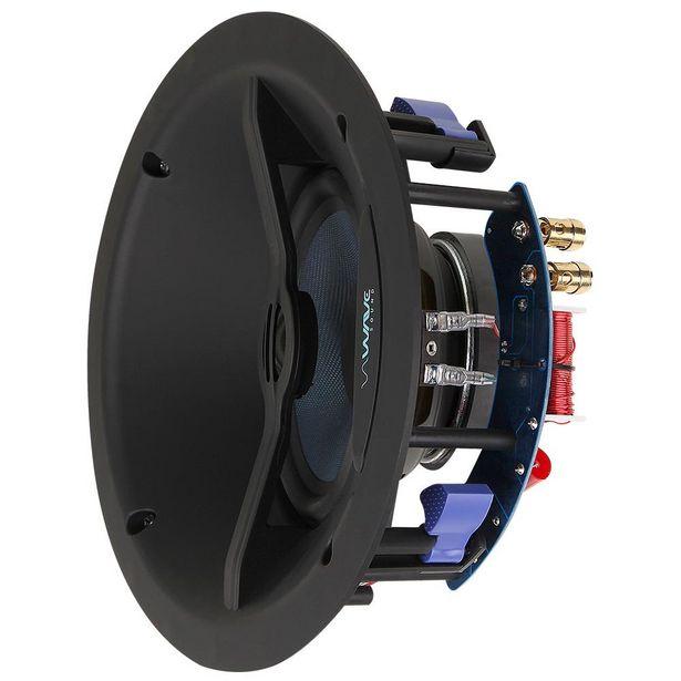 """Oferta de Caixa de Embutir Angulada Wave Sound WIN150 6,5"""" 150w - Tela Quadrada Branca (UN) por R$956"""