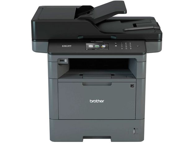 Oferta de Impressora Multifuncional Brother Laser Mono DCP-L5652DN por R$3364,01