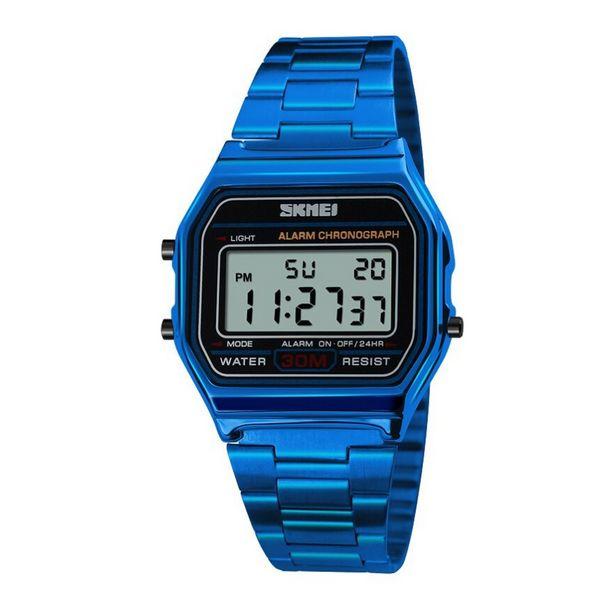Oferta de Relógio Unissex Skmei Digital 1123 - Azul por R$87,35