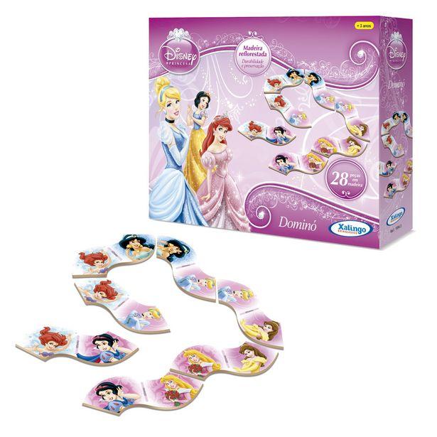 Oferta de Dominó Princesas Disney - Xalingo por R$24,9
