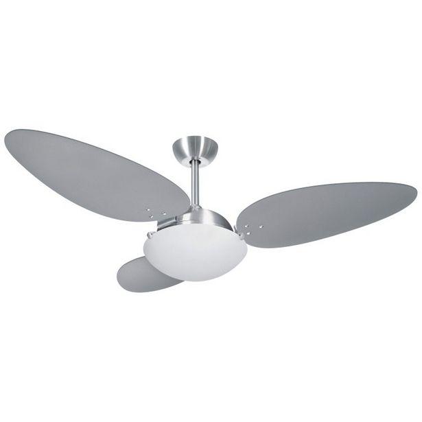 Oferta de Ventilador Volare Platinum Pétalo Titânio por R$859,9