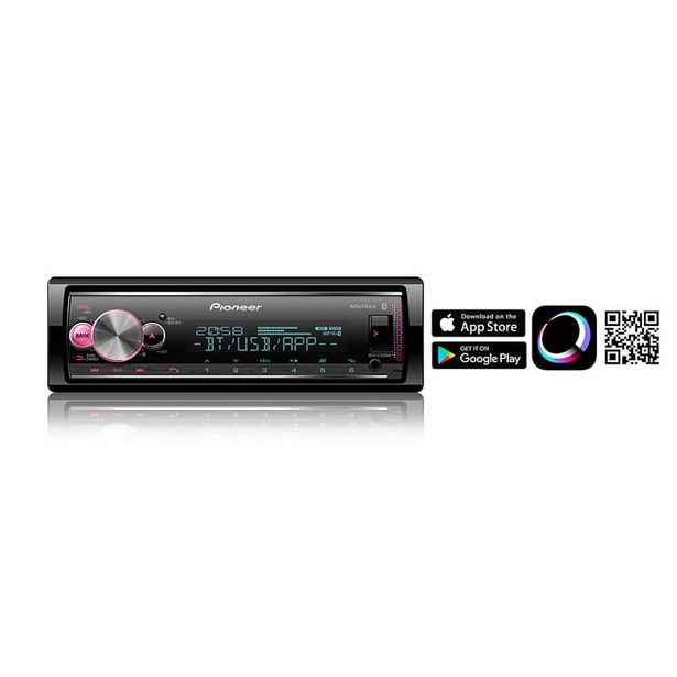 Oferta de Media Receiver Pioneer Mvhx7000br Mp3/ Usb/ Bt por R$659
