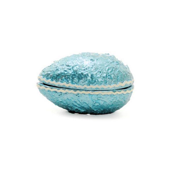 Oferta de Ovo De Cerâmica P/ Ovo De Páscoa Azul por R$18,9
