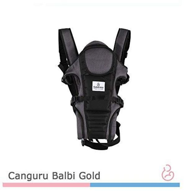 Oferta de CANGURU BALBI GOLD PRETO CINZA PTC - GALZERANO por R$209