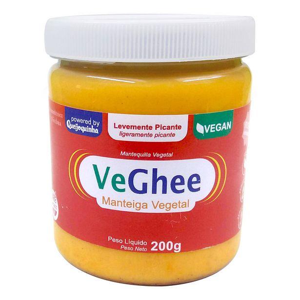 Oferta de Manteiga Vegetal Veghee Picante Leve Vegano Sem Glúten 200g por R$23,9