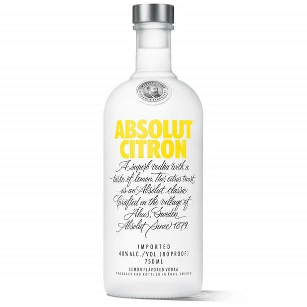 Oferta de Vodka Sueca Absolut Citron - 750ml por R$84,9