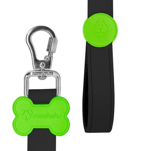 Oferta de Peitoral Style Com Guia Para Cachorro Pet NEON Verde - PP - Pequeno - Meu AuAu por R$113,62