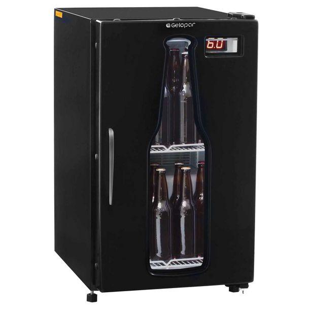 Oferta de Cervejeira Vertical Gelopar Frost Free 112 Litros Preta - GRBA120PR por R$3099,9