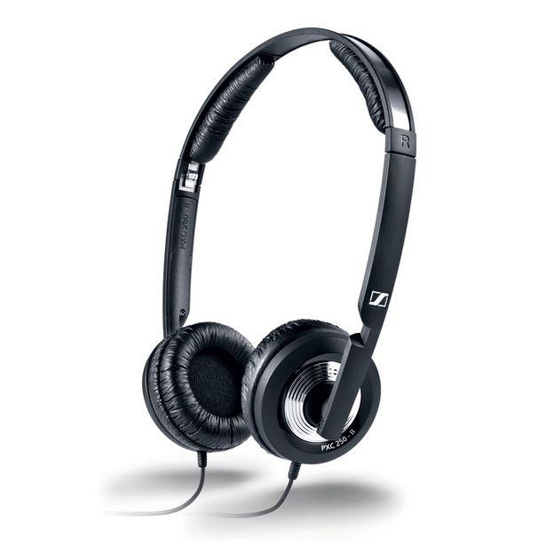 Oferta de Headphone Dobrável Com Controle de Volume, Cancelador de Ruído Para Avião por R$728,9