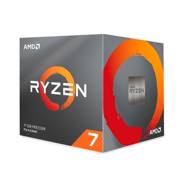 Oferta de AMD Ryzen? 7 3800X Octa Core - 16 Threads - 3.9GHz (Turbo 4.5GHz) - Cache 32MB - AM4 - TDP 105W - Wraith Spire Cooler - 100-100000025BOX - Sem Gráfico Integrado por R$3172,33