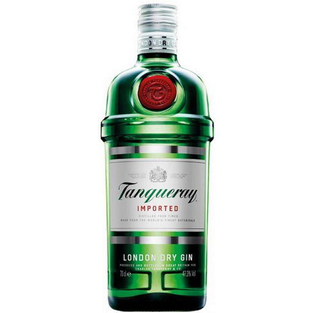 Oferta de Gin Importado Tanqueray Garrafa - 750ml por R$164,9