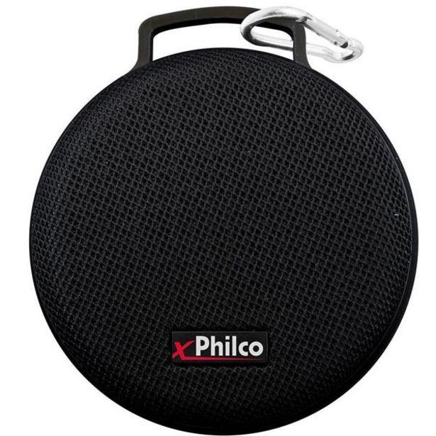 Oferta de Caixa de Som Speaker Philco Extreme 5W RMS - PBS04BT por R$69