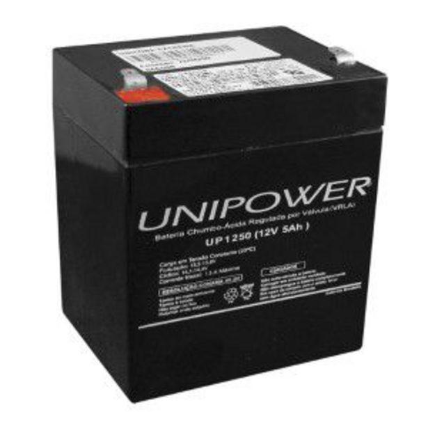 Oferta de Bateria Unipower UP1250 12V 5AH F187 Nao Automotiva por R$80,93