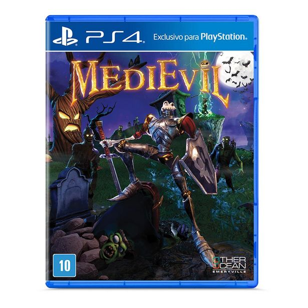 Oferta de Medievil - PS4 por R$119,9