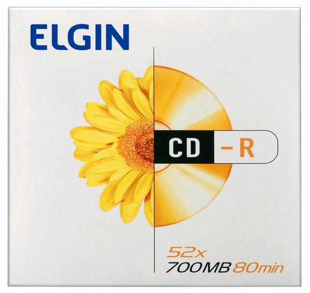 Oferta de CD-R 700MB 52x - 1 Unidade - Elgin 82053 por R$5,99