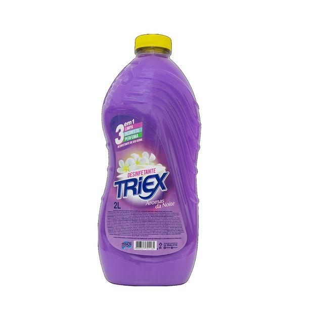 Oferta de Desinfetante Aromatizado Aromas da Noite Com 2 Litros Triex por R$8,9