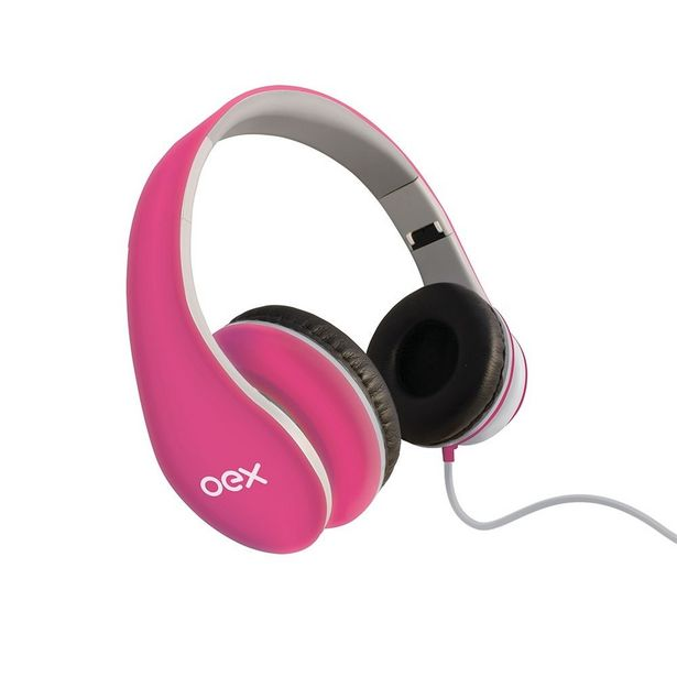 Oferta de Headset Sense HP-100 Com Fio OEX - Rosa por R$76,9