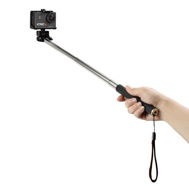 Oferta de Acessorio Actioncam - Bastão de Selfie Atrio ES080 por R$64,9