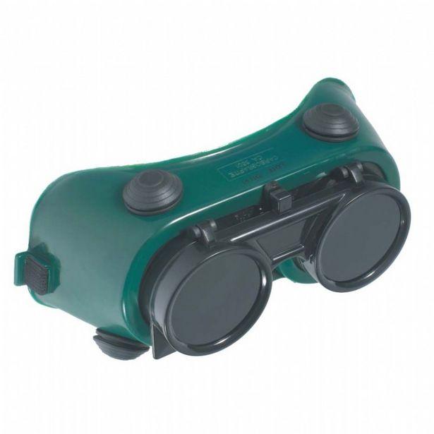 Oferta de Óculos De Solda Cg250 Carbografite Redondo Visor Fixo Epi por R$26,47