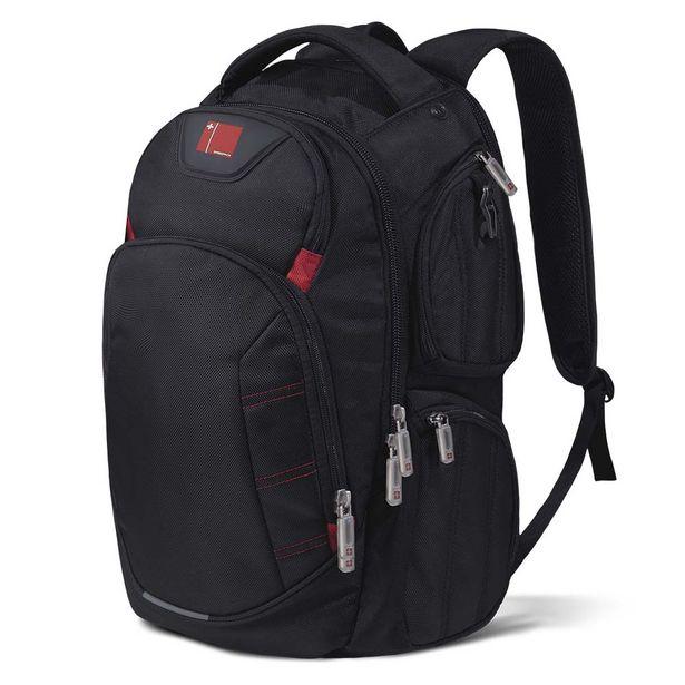 Oferta de Mochila Swisspack Large Preta Até 15.6 Pol. Multilaser - BO410 por R$207,92