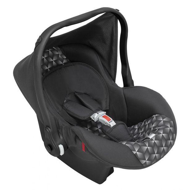 Oferta de Bebê Conforto Tutty Baby Nino Até 13 Kg Com Capota Preto New por R$256,95