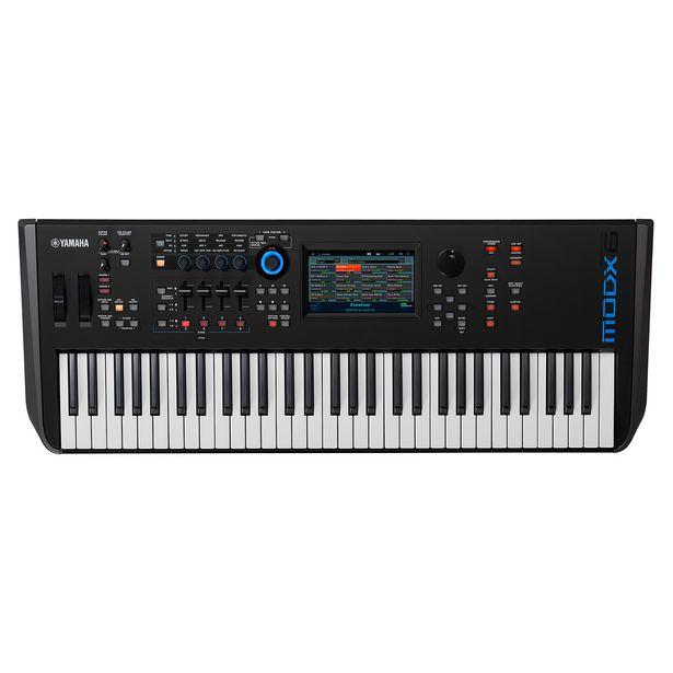 Oferta de Teclado Sintetizador Yamaha Modx7 Com 76 Teclas E 16 Faixas Preto por R$11265,95